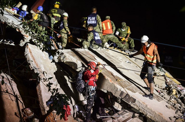 21 Schoolchildren, Over 200 Others Killed In Mexico Earthquake
