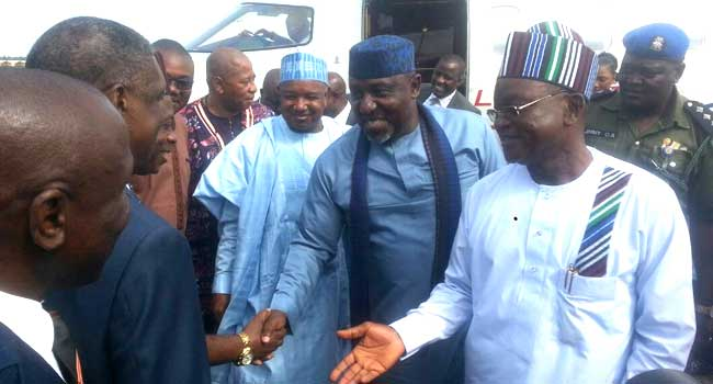 Image result for APC Governors Visit Benue State