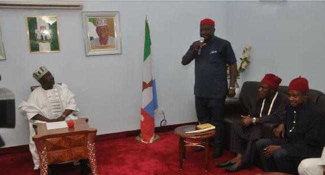 Governor Al-Makura Meets With Igbo Leaders In Nasarawa