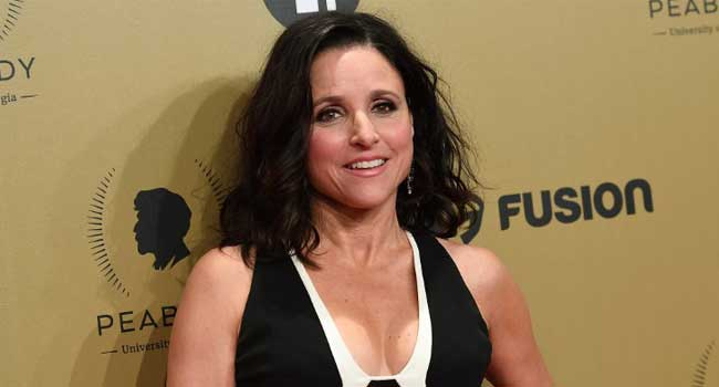 Julia Louis-Dreyfus and her son thank supporters after her cancer diagnosis