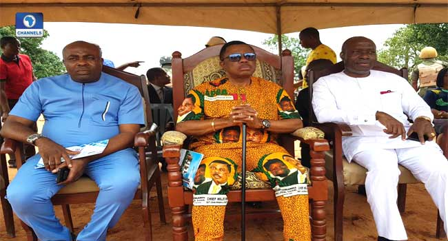 Obiano, Soludo Attend Camp Of Light Foundation Laying
