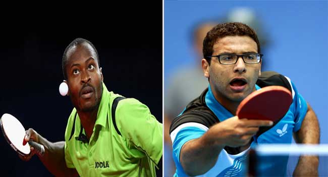 Aruna, Omar To Represent Africa At ITTF World Cup