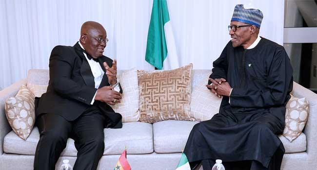Buhari Meets With Ghana's President, King Of Jordan