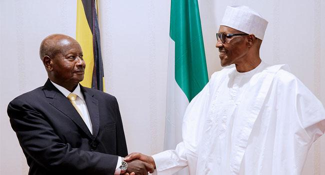 President Museveni Of Uganda Visits Buhari