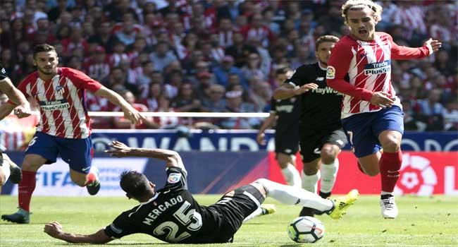 Atletico Beat Sevilla 2-0 In League Clash