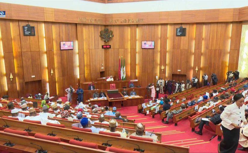 Senate Swears In Andrew Uchendu To Replace Sekibo