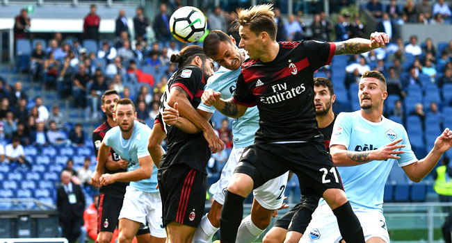 Immobile Scores Hat-Trick As Lazio Humble Milan