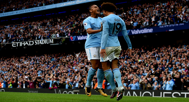 Sparkling Sane Inspires Man City In Palace Rout
