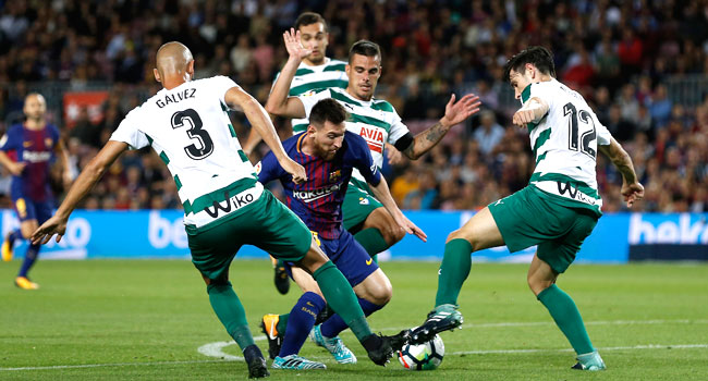 Messi Hits Four As Barcelona Hammer Eibar