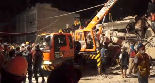 Mexican Death Toll Hits 248
