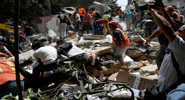 Mexico Earthquake: International Paralympic Committee Postpones Events