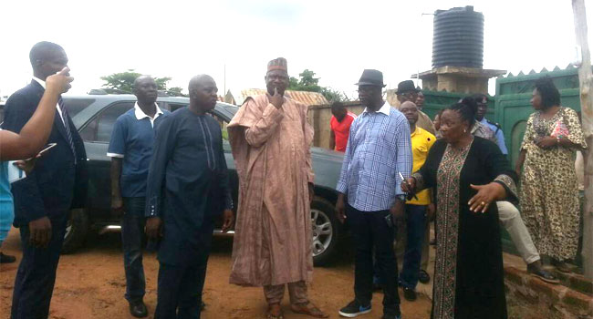 PHOTOS: Minister Of Environment Visits Benue Flood Victims