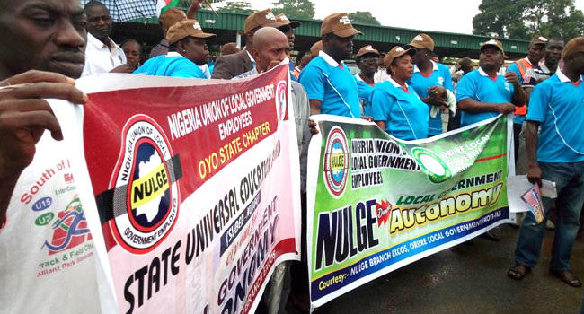 NULGE Protests LG Autonomy In Oyo