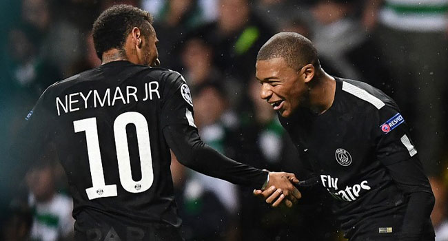 Neymar, Mbappe Could Be Fit To Face Liverpool