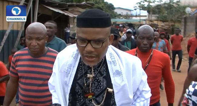 We Recovered Weapons From Nnamdi Kanu's Residence – Abia CP