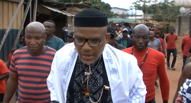 Nnamdi Kanu Calls Off IPOB Election Boycott In Southeast