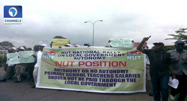 Public Primary School Teachers Protest In Osun