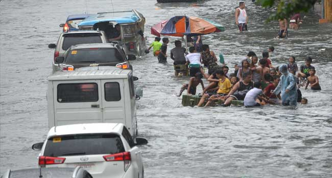 Three Dead, Six Missing, As Storm Hits Philippines