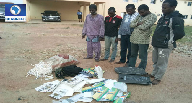 Police Parade Fake Currency Syndicate In Osun