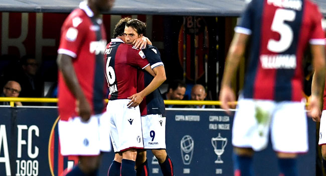 Bologna's Verdi Ends Inter's Perfect Run