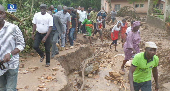 Soil Creep: Ekiti Govt Urges Residents To Stay Away From Affected Area
