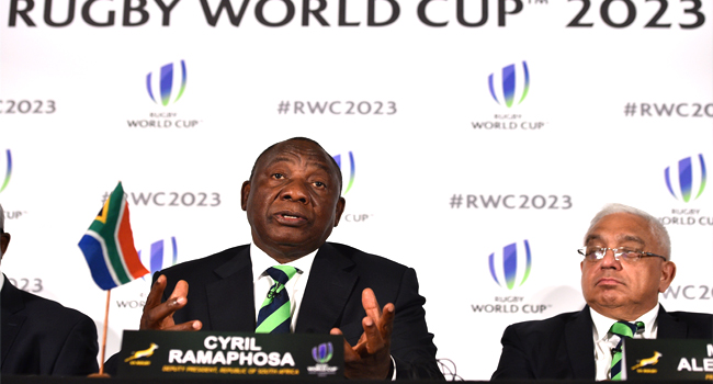 South Africa Bid To Host 2023 Rugby World Cup