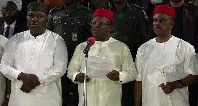 South-East Governors Urge FG To Fix Federal Roads, Airport In The Region