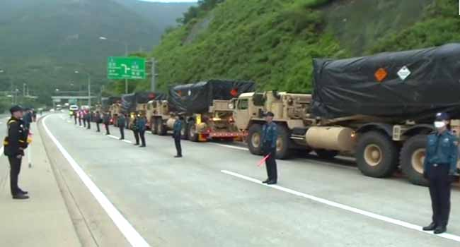 Four more THAAD launchers ready for deployment in South Korea
