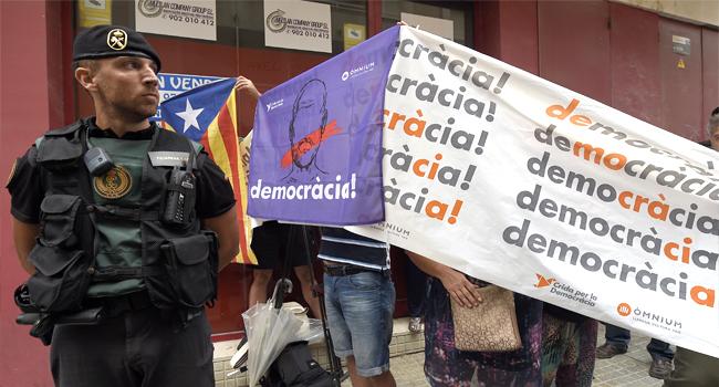 Police Probes Catalan Referendum Website Developers