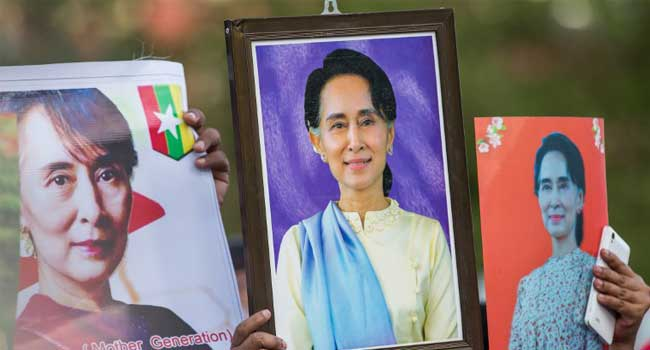 Rohingya Crisis: Oxford College Removes Portrait Of Myanmar Leader