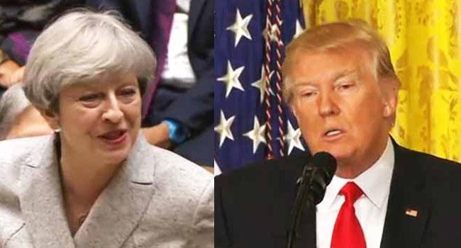 London Train Attack: Trump's Tweet Angers Britain