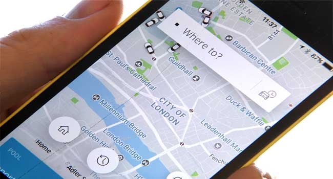 Taxi Drivers Embark On Strike In Protest Against Uber
