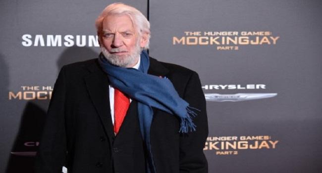 'Hunger Games' Actor Donald Sutherland To Get Lifetime Oscar