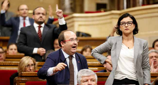 Catalan Official Accuses EU Of Tacitly Backing Madrid