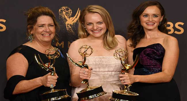 Politics Take Centre Stage As 'Handmaid's Tale' Sweeps Emmys