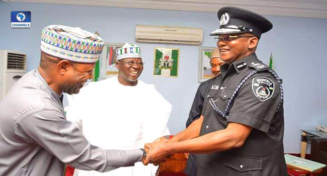 Nasarawa New Commissioner Of Police Visits Al-Makura
