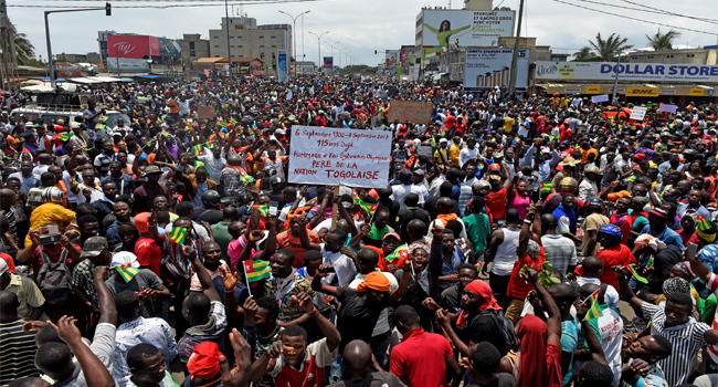 Thousands Gather In Togo To Protest President