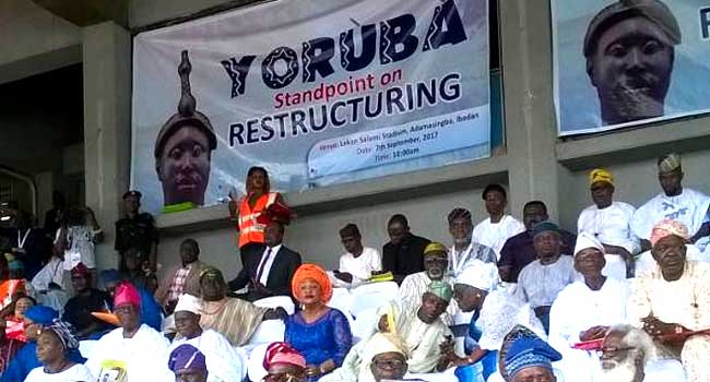 Restructuring: Yoruba Leaders Call For Regional Administration