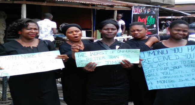 ABSEDA Staff Protest Over Unpaid Salaries