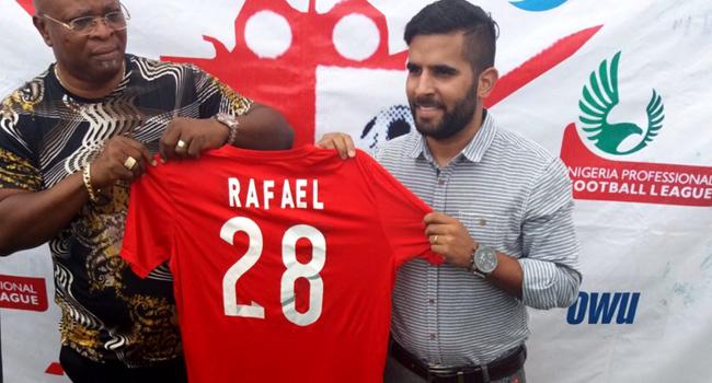 Abia Warriors Unveil Brazilian Coach Rafael