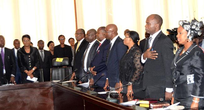 Ajimobi Inaugurates New Judges