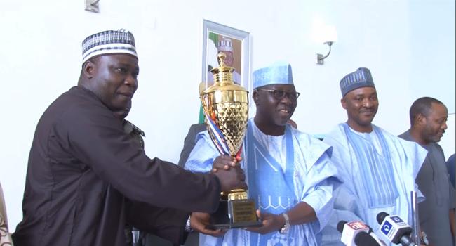 Al-Makura Rewards Victorious Nasarawa Amazons