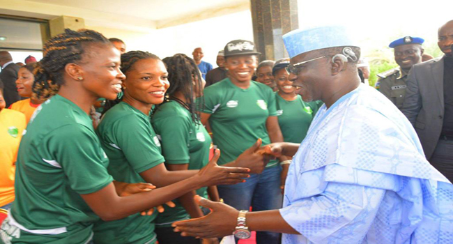 Governor Al-Makura's Meeting With Nasarawa Amazons In Photos