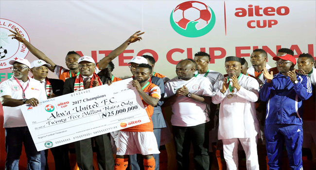 Akwa Ibom Governor Wants Aiteo Cup Prize Money Increased