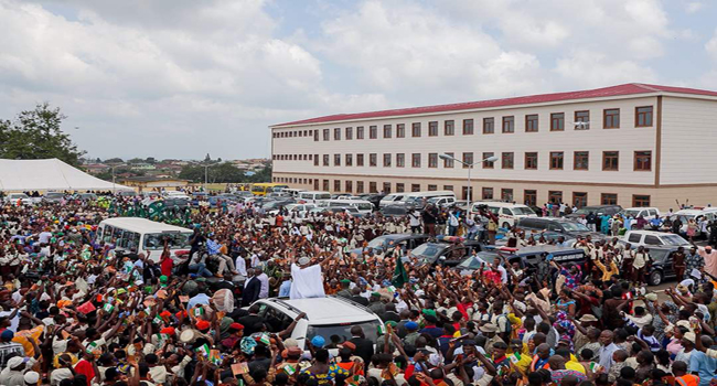 Aregbesola Launches Resident Identification Initiative, Inaugurates Another School