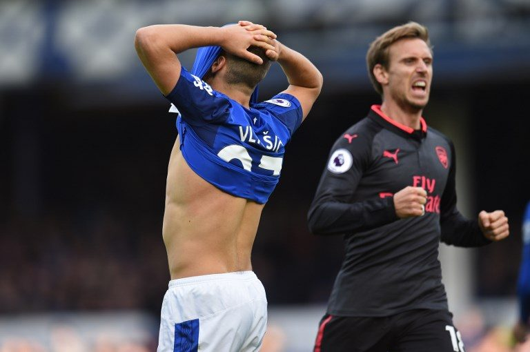 Arsenal Sends Everton Into Drop Zone In 5-2 Defeat