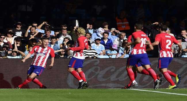 Gameiro Fires Goal-Shy Atletico Into Third