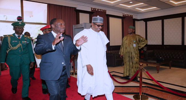 Buhari, Tinubu, Others In APC Caucus Meeting