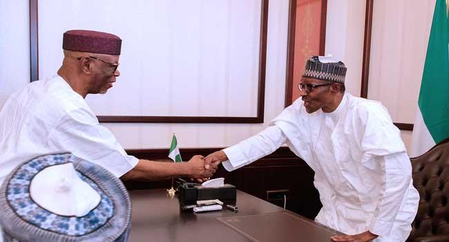Buhari's Meeting With APC Leaders In Photos