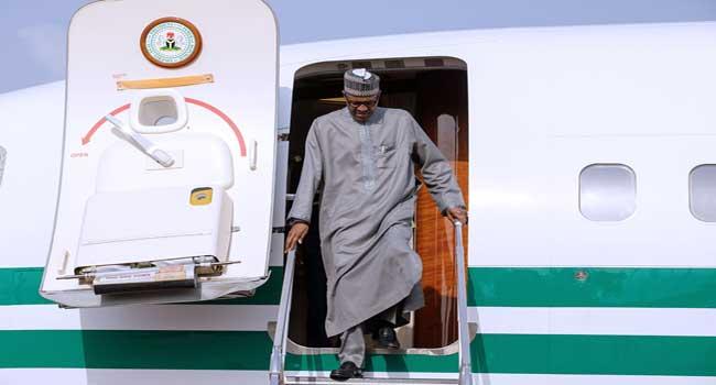Buhari Arrives Niamey For ECOWAS Meeting